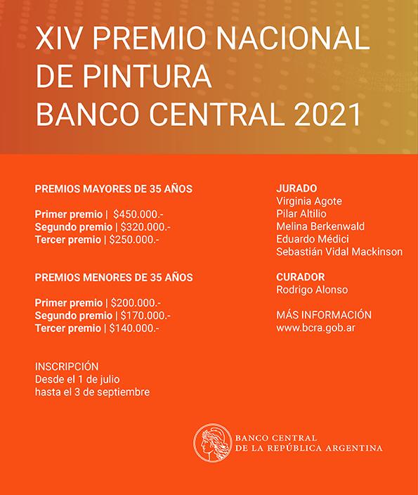 XIV Premio de Pintura del Banco Central 2021 - blog Darío Parejas artista visual